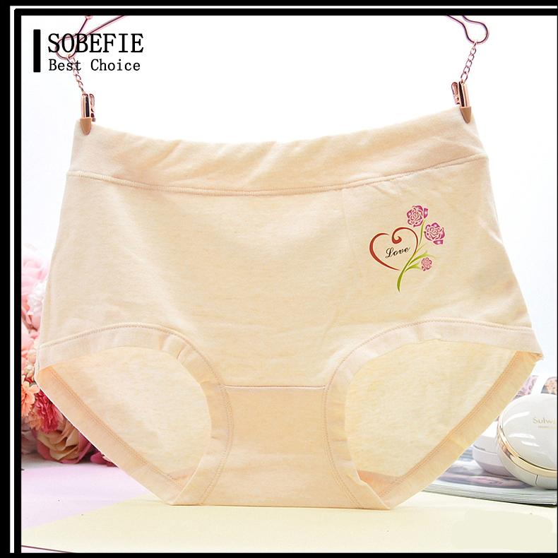 Women Briefs Cotton New Arrival Hot Young Sexy Girls Preteen Nice Cute Printed Simply Underwear