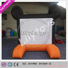 OEM beautiful cute best selling inflatable drive in movie screens for sale