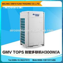Gree GMV Tops 10HP 11000btu villa mini central air conditioner unit,DC inverter r410 air conditioner