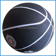 Good bounce inflatable rubber basketball No. 7