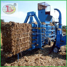 baler machine of hay and straw
