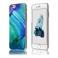 C&T Popular universal IMD Ocean Sea Wave printing pc cover for apple iphone 6