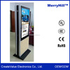 Floor Stand Touch Screen Wireless Display 42/ 46/ 55/ 65 Inch Double Sided LCD Vertical Advertising Monitor