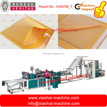 HAS VIDEO High Speed Automatic Two Side Seal Poly Craft paper air Bubble film mailer Bag Making Machine
