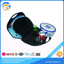 Small Size Can and Wine Cooler Bag for Frozen Food for Trip