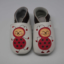 Genuine leather baby shoes Cute animal Bee newborn baby shoes