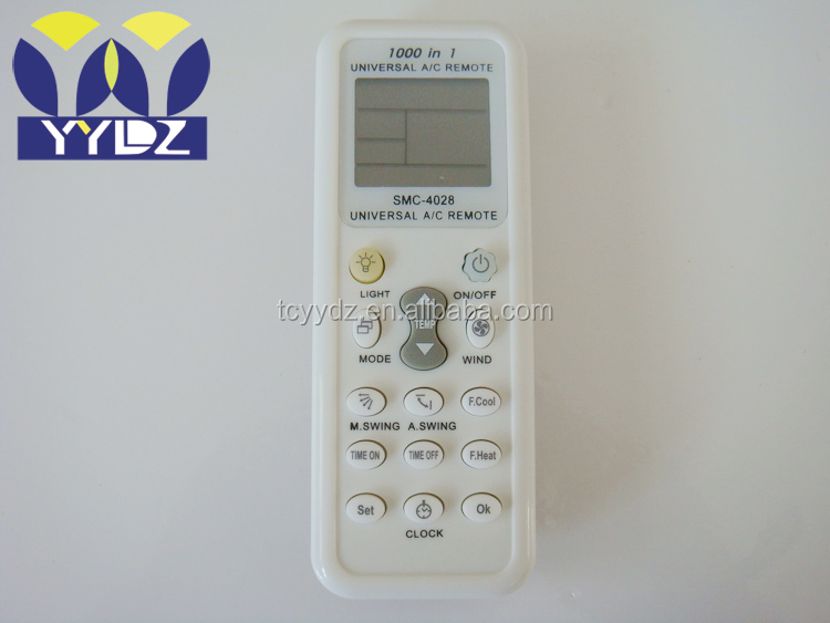 universal air conditioner remote control <strong>k</strong>-1028e <strong>1000</strong> in 1