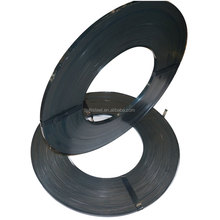 HIGH STEEL /factory price Q195 0.36*16mm blue tempered steel strapping