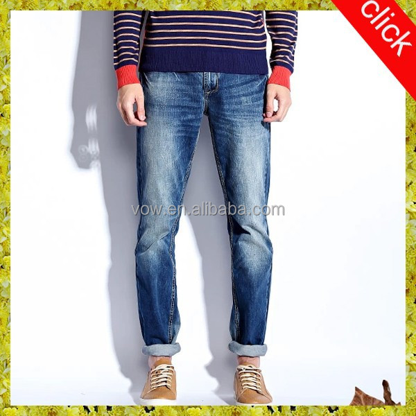 2015 Top Brand Name Jeans Wholesale Motorcycle Ripped Jeans Men