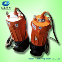 WQD/WQ Series centrifugal submersible sewage pump