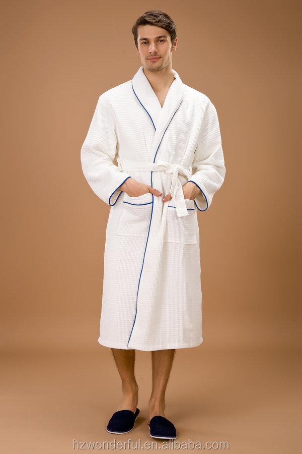 white double layer cotton robe de soiree