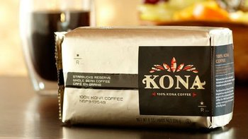 Starbucks KONA Whole Bean Coffee 8oz
