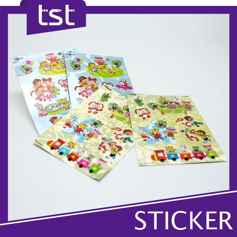 Cartoon Children Custom Stickers