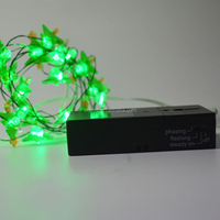 Waterproof battery box powered Led string light light for wedding bouquet Christmas decoration