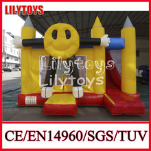 Creative Cartoon Style used commercial grade inflatable bouncer durable inflatable castle for kids