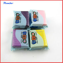 Chidren educational colorful 50g DIY clay plasticine 88 Colors DIY Modelling Polymer Clay Craft Block Soft Plasticine Educationa