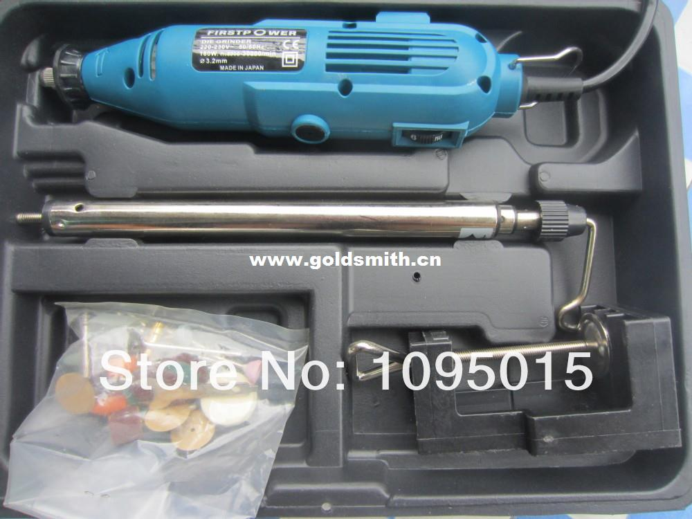 wholesale alibaba,Hot sale rotary polishing tool kit with plastic case,jewelry making tool and machine, jewelry tool