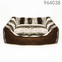 Hot selling famous high quality and washable luxury warm fashion America style pet bed for dog from forsy form