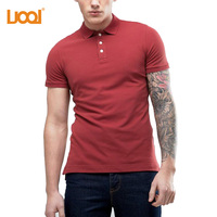 Bulk Wholesale Zip Collar Plain Polo shirt , Custom Blank Polo Shirt Printing
