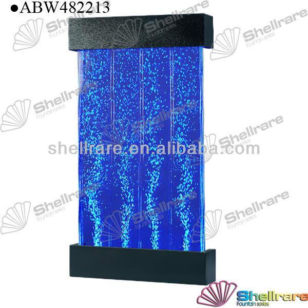 Matel pintado panel de burbujas de agua con luz led para - Decoracion led hogar ...