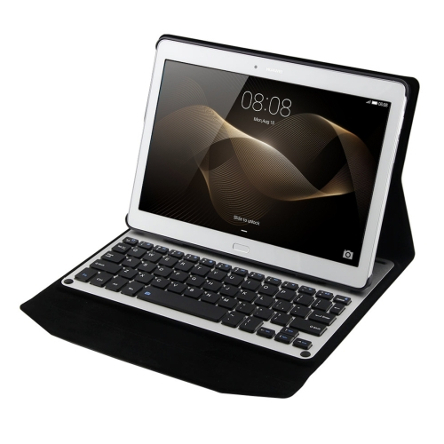 Good quality Bluetooth Keyboard Horizontal Flip Leather Case with Holder For Huawei MediaPad M2