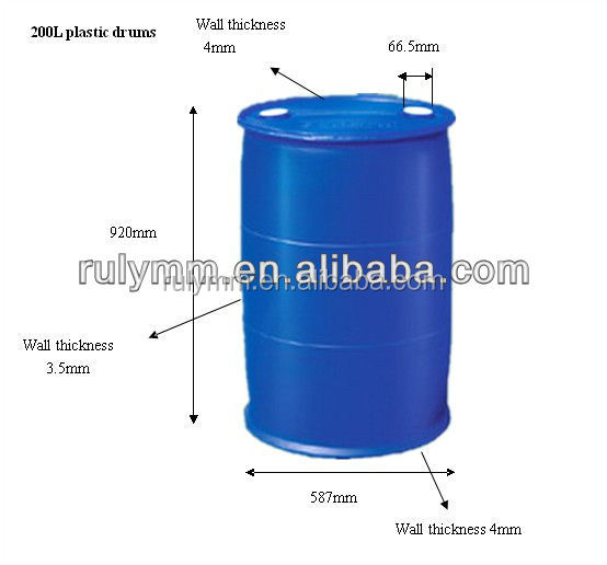 Blue Plastic Drum 200 Litre For Storage Water Buy 200