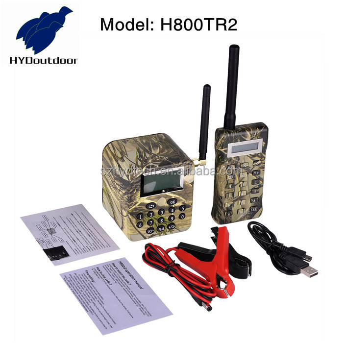 wholesale electronic bird sound speaker caller for hunting bird H800TR2