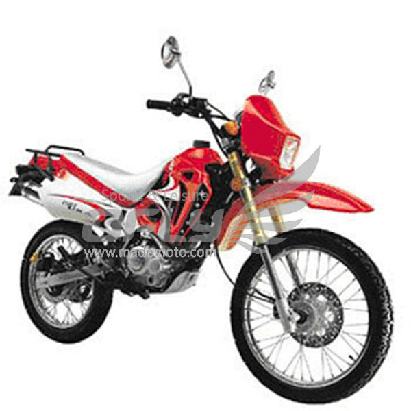 Gas-Powered 200CC Dirt Bike with Spoke Wheel Rim DB2002