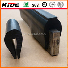 capping rubber screen u strip rubber u channel seal