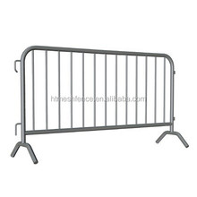 removable steel crowd stopper Barricades/ Pedestrian Barrier Fence Anping factory