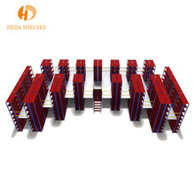 Competitive price industrial heavy duty rack warehouse metal stack pallet shelf