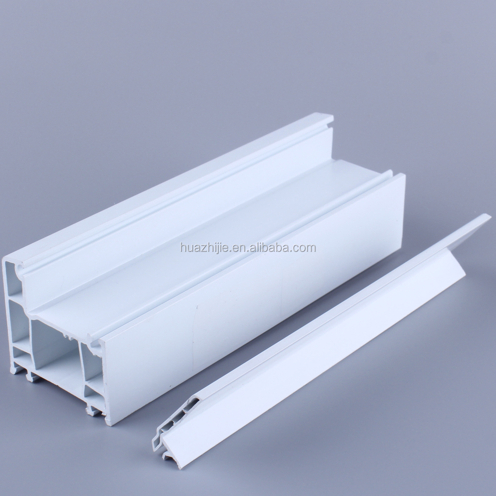 China top 10 brand pvc vinyl material uPVC door and window profile extruded plastic profile