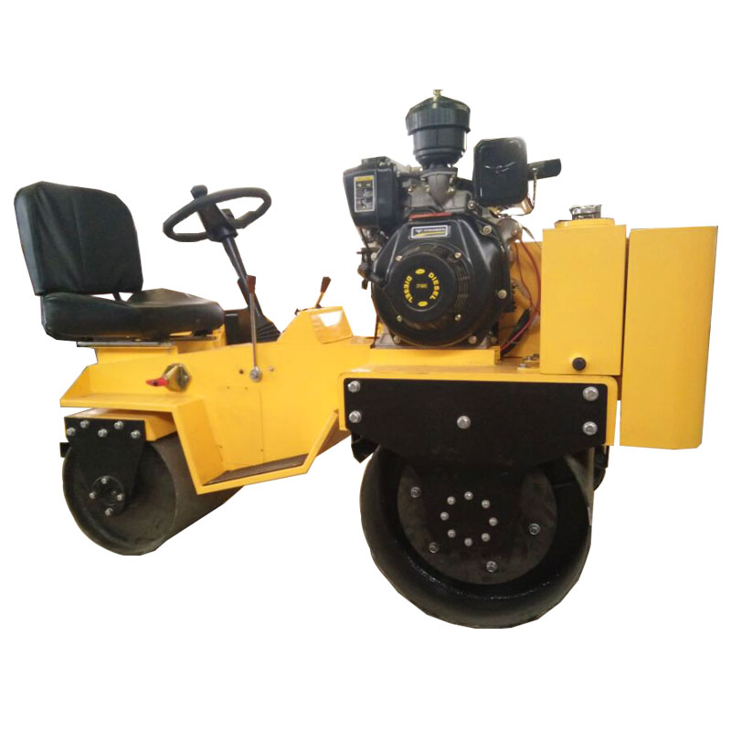 Asphalt compaction 850KGS Self-propelled Vibratory Road Rollers
