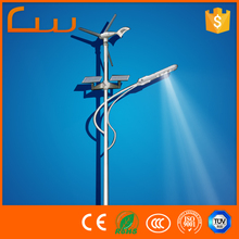 Alibaba hot sale solar wind automatic controller LED street light lamp