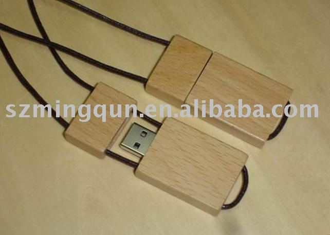 Wooden/Bamboo USB Flash Drive promotional gift