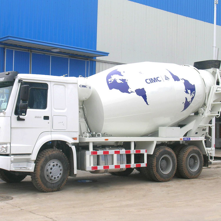 CIMC SANY Welding precision tank Reasonable price concerte mixer truck mercedes benz concrete mixer truck