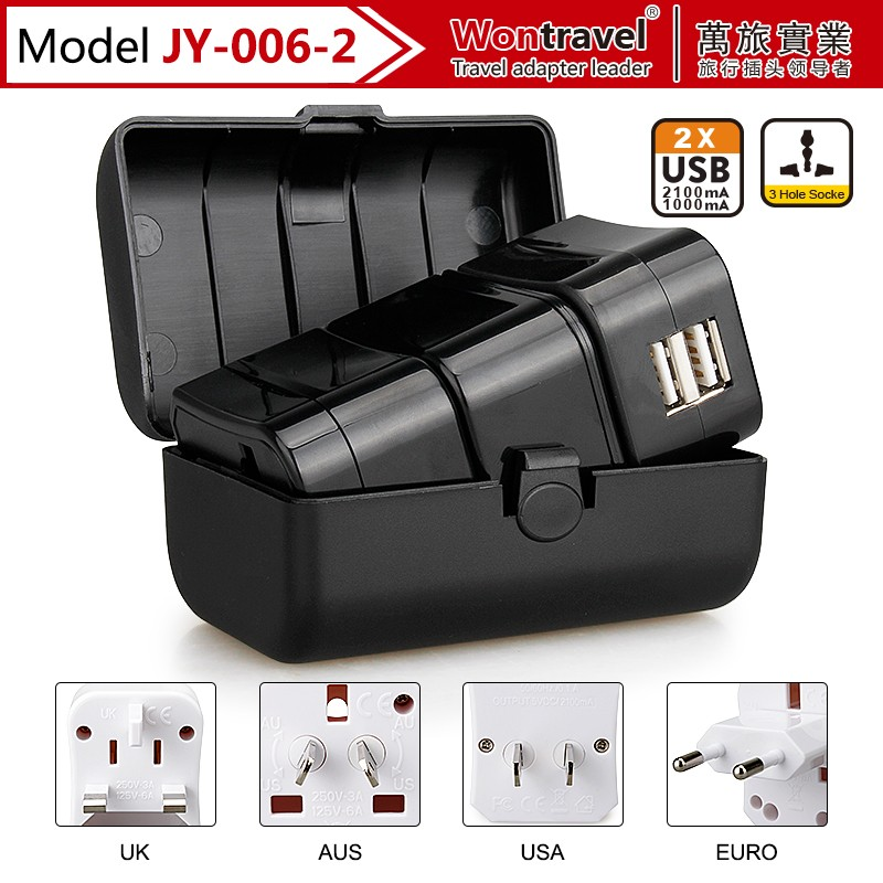 JY-006-2 5V 1A Dual USB ac/dc power adapter alibaba co uk gift sets promotion adapter