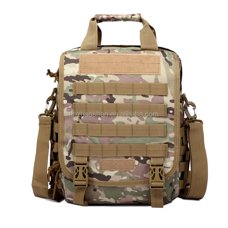 Tactical Outdoor Camouflage Shoulders Bag Multi-function Computer Waterproof Oxford Laptop Backpack