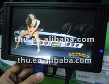 new stock small 7 inch touch screen lcd monitor with hdmi input for car