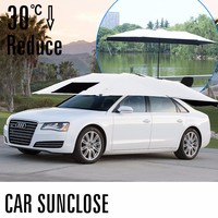 New Car Window Sun Shade Car Windshield Visor Cover Front Back Side Window Sunshade UV Protect Car Window Film