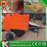 2015 Super quality cheap price mini round hay baler/compact hay baler for sale
