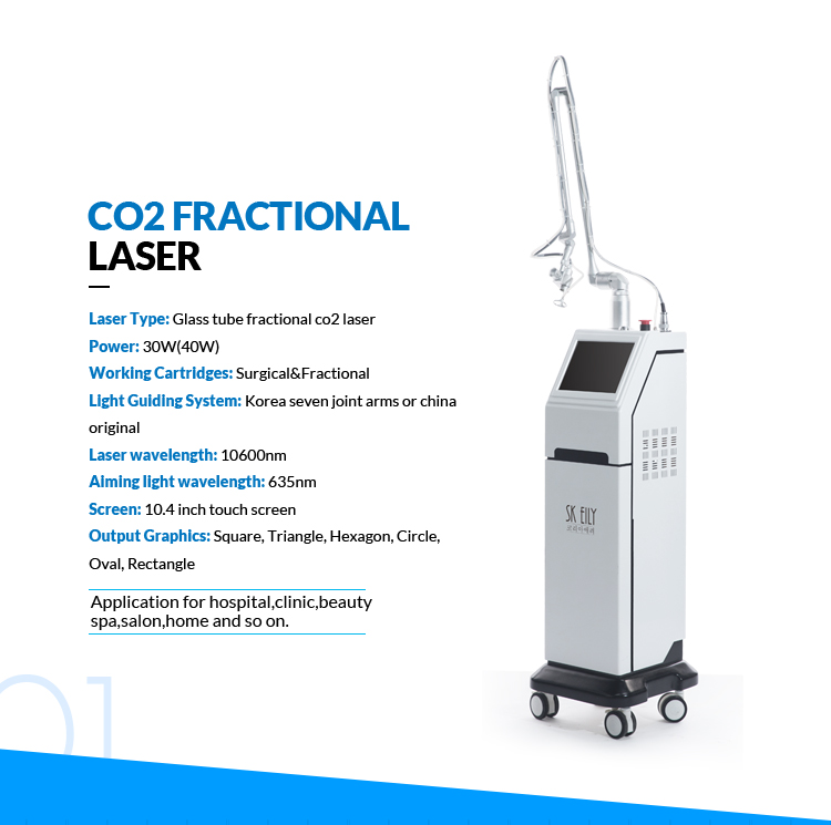 Vaginal Tightening Acne Scar Removal Fractional CO2 Laser Machine