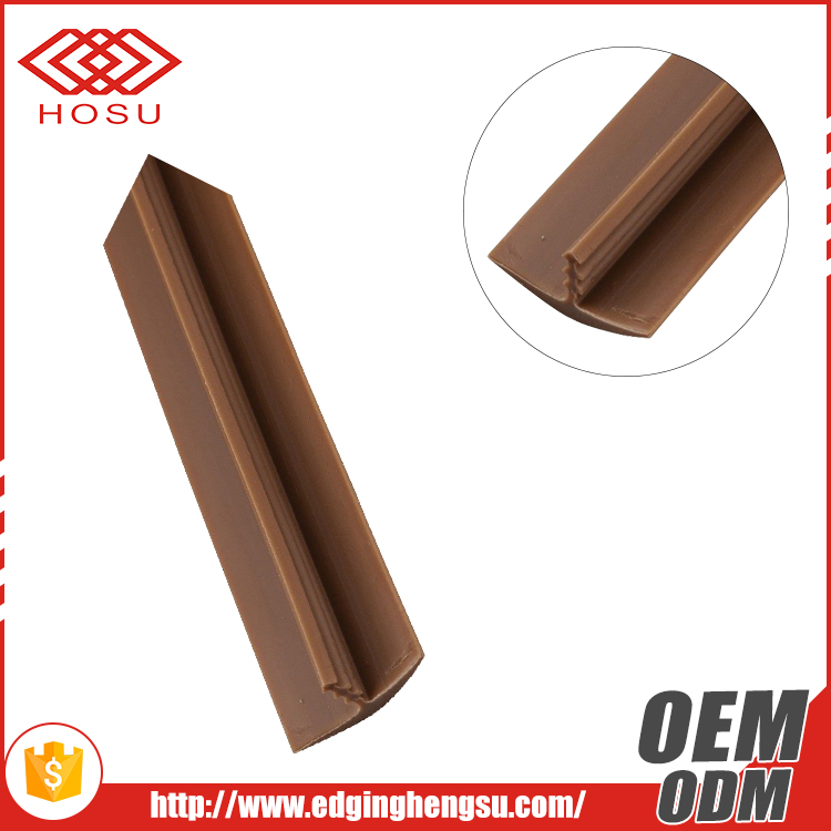 High quality rubber T molding edge banding plastic pvc edge tape/strip/trim