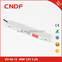 CNDF waterproof constant voltage led driver module 40w 12v 3.3a ip67 SV-40-12
