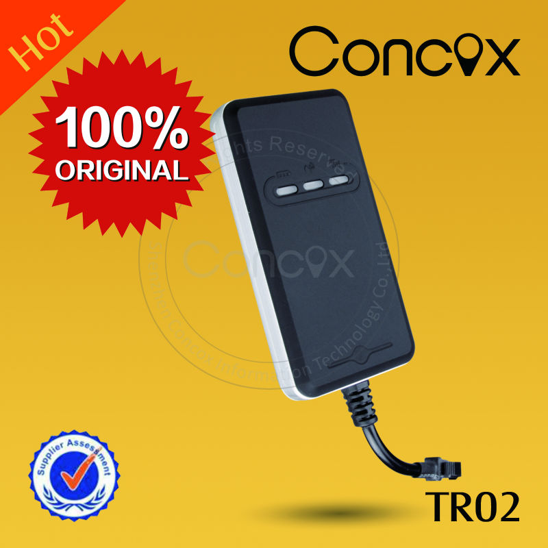 Free Mobile Tracking Software Easy operation stable and reliable gps tracer Concox TR02