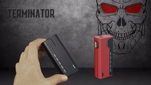 2017 Newest Tesla Terminator 90W vape box mod in stock fast delivery from Teslacigs manufacturer
