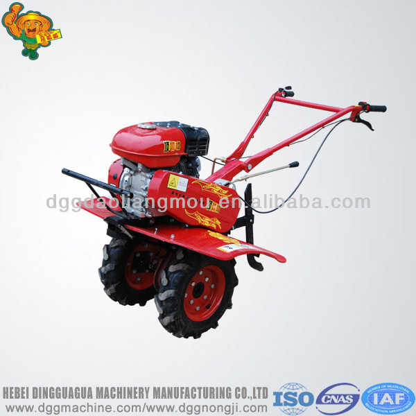 mini gasoline power tiller farm cultivator garden mini tiller soil tillage machine