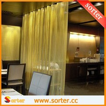 2016 New style Customized Metal Coil Drapery Room Divider for Home Decoration