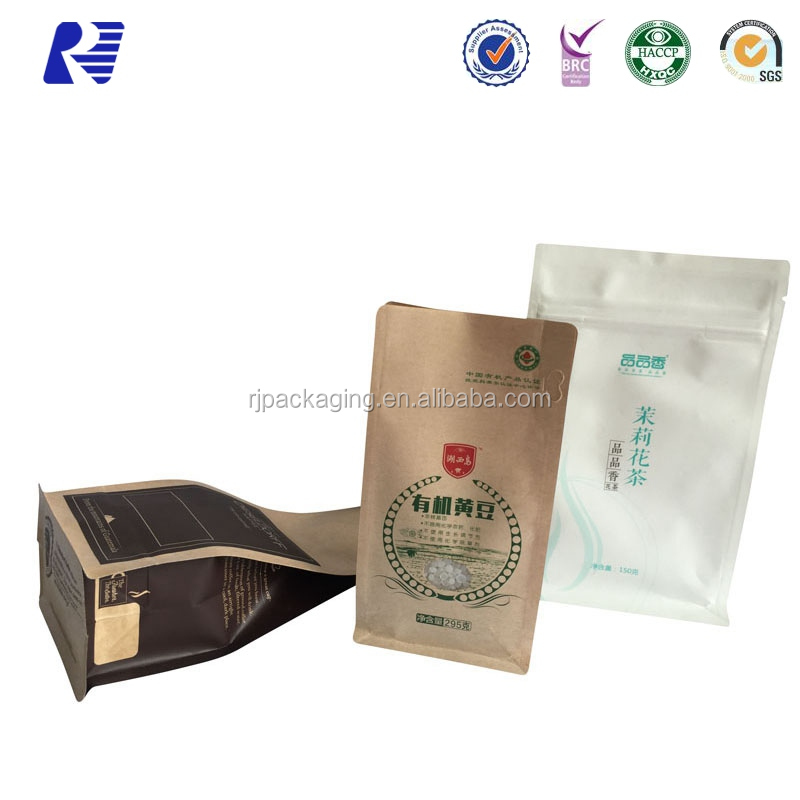 Competitive Price Custom Aluminum foil lined kraft paper bag with high quality