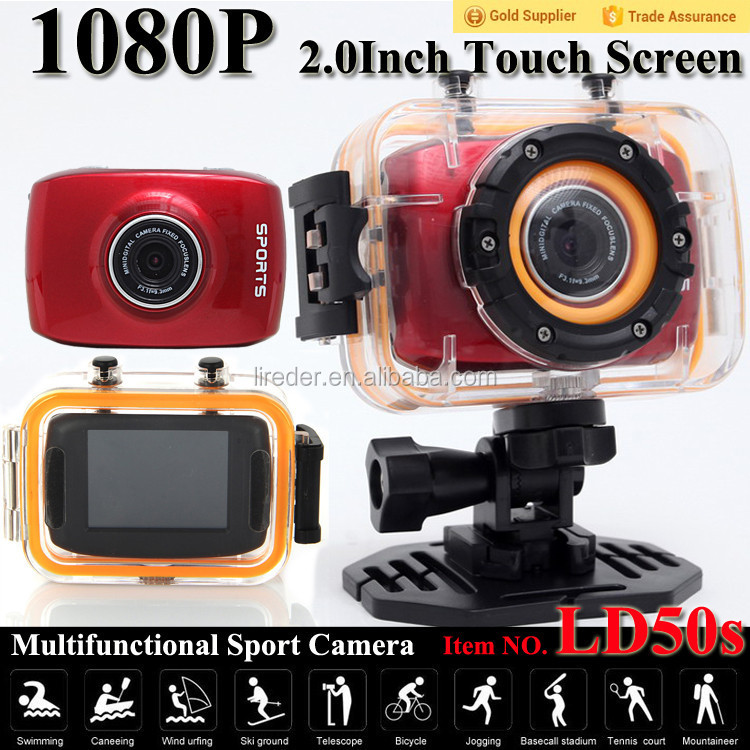 newly invented products ld50s action sport underwater camera LD50s